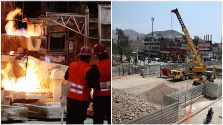 Minería e hidrocarburos creció 14.27% y Construcción bajó 7.53% en julio