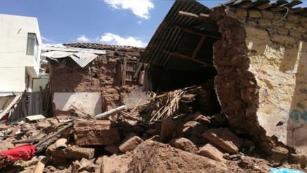 Un muro de adobe aplastó a un hombre en Cusco