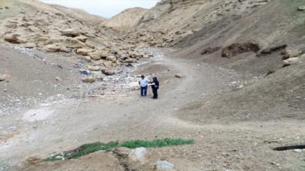 Piura: evalúan drenes y quebradas ante posibles lluvias en Paita
