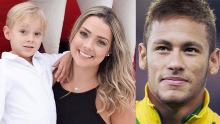 La madre del hijo de Neymar, el primer amor del brasileño