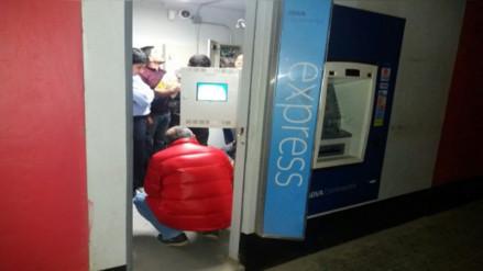 Intentaron robar en cajero automático de banco en Pátapo