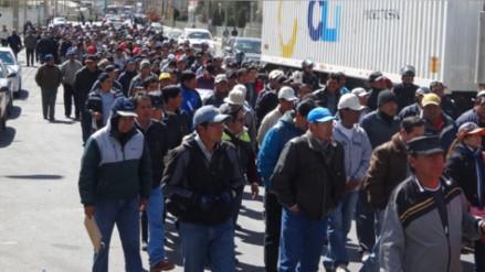 Trabajadores de Doe Run evalúan paro provincial