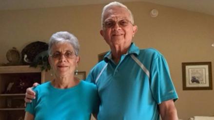 Una pareja de ancianos conquista Twitter por combinar su ropa