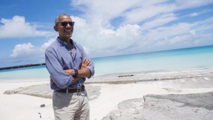 Obama presenta la mayor reserva marina del mundo en Hawái