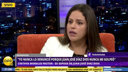 Cinthya Morales, expareja de Juan José Díaz Dios:
