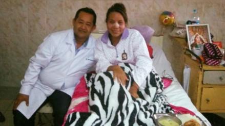 Milagros Rumiche permanecerá en Lima hasta que detengan a su agresor