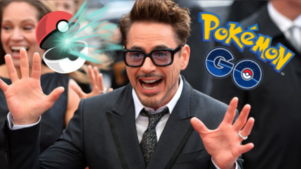 Facebook: Robert Downey Jr. se convierte en Pokémon