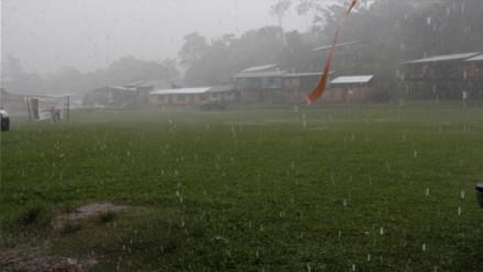 Advierten lluvias con tormentas eléctricas en la selva peruana