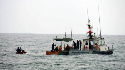 Rescatan a pescadores que estuvieron 8 días desaparecidos en altamar