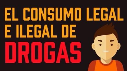 Infografía: El consumo de las drogas legales e ilegales en el Perú