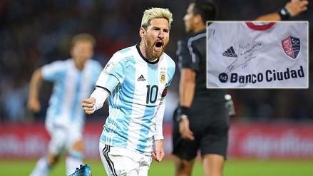 Lionel Messi: autógrafo era requisito para que se casara pareja de rosarinos