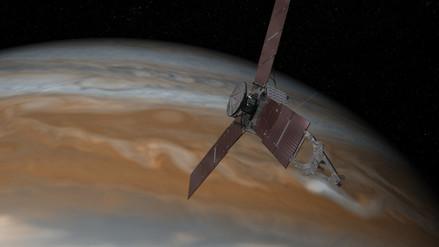 La NASA publica imágenes inéditas de los polos de Júpiter