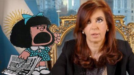 Quino reveló qué le diría Mafalda a la expresidenta Cristina Fernández
