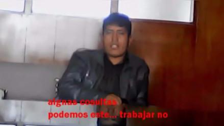Huancayo: revocadores de alcalde piden favores para dejar proceso
