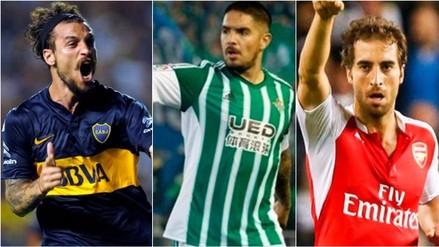 Fotos: 10 futbolistas sin club tras el cierre del libro de pases