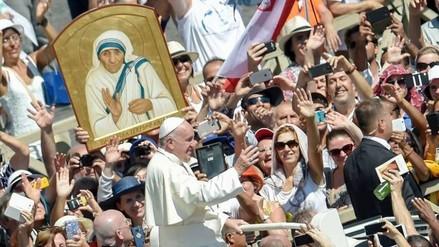 La Madre Teresa de Calcuta fue canonizada por el Papa Francisco en El Vaticano