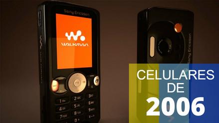 Fotos | 6 teléfonos celulares que estaban de moda antes de que exista el iPhone