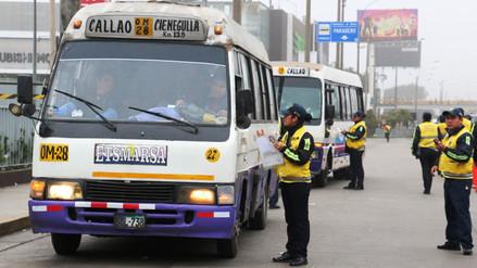 Más de 350 vehículos informales enviados al depósito en corredor Javier Prado