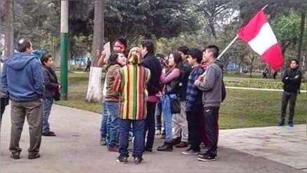 Video: marcha 'Ni Uno Menos' tuvo escasa convocatoria y fue blanco de burlas