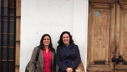 César Zumaeta difundió foto trucada de Verónika Mendoza y Marisa Glave