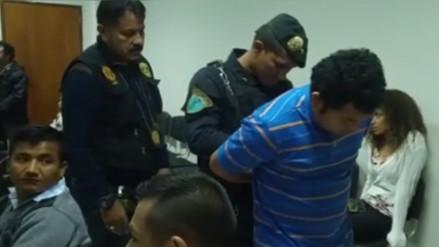 Trujillo: prisión preventiva a nueve miembros de