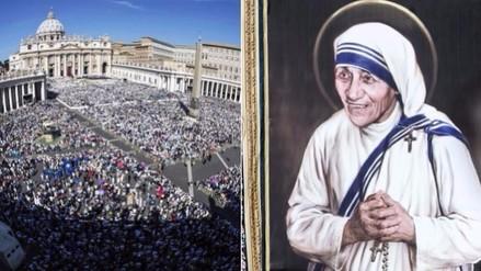 Así fue la canonización de la Madre Teresa de Calcuta en El Vaticano
