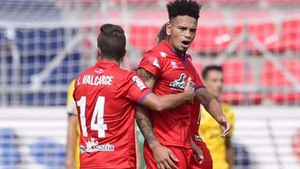 YouTube: Alexander Callens anotó en el 1-1 del Numancia frente a Alcorcón