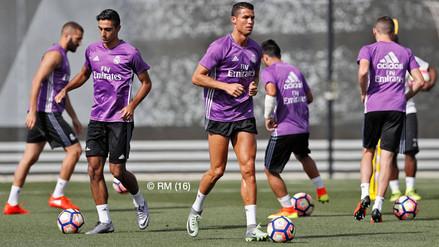 Real Madrid: Cristiano Ronaldo y Karim Benzema volvieron a entrenar
