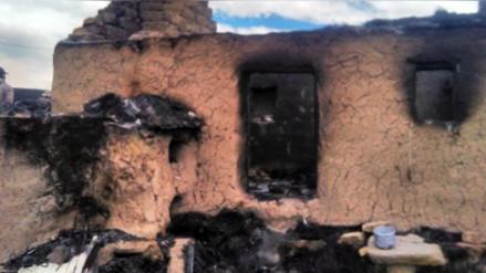 Incendio arrasó cultivos y viviendas en provincia de Canas