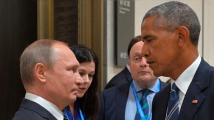 Obama y Putin discutieron sobre la situación en Siria pero no llegaron a un acuerdo