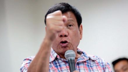 """Presidente de Filipinas a Obama: """"Hijo de p*** te voy a maldecir"""""""