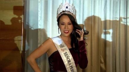 Patty Wong: segunda finalista en certamen Señora Universo 2016