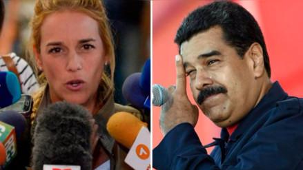 Lilian Tintori denuncia a Maduro ante la CPI por crímenes de lesa humanidad