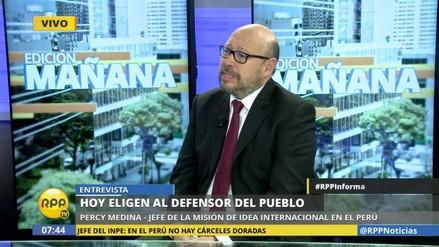 """Percy Medina: """"Ningún candidato a defensor tiene anticuchos"""""""