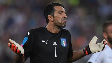 YouTube: Gianluigi Buffon fue víctima de un golazo ante Israel