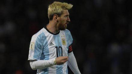 Lionel Messi tranquilizó a sus fanáticos con una foto en Facebook