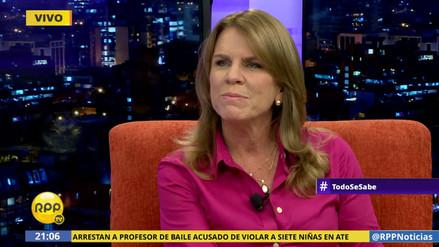 """Cayetana Aljovín: """"No tendremos programas sociales que entreguen dinero"""