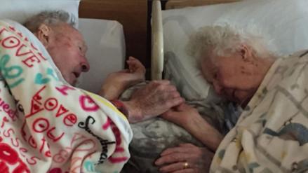 Reddit: la conmovedora despedida de una pareja que llevaba 77 años de casados