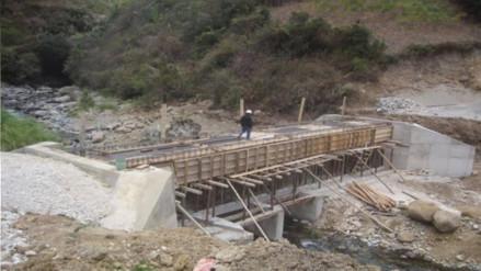 Avanza construcción de carretera Mamagpampa en el distrito de Kañaris