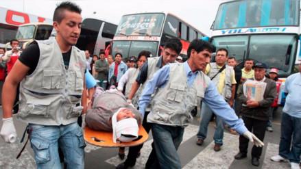 Cerca de 10, 000 víctimas de accidentes de tráfico en lo que va de año en Lima