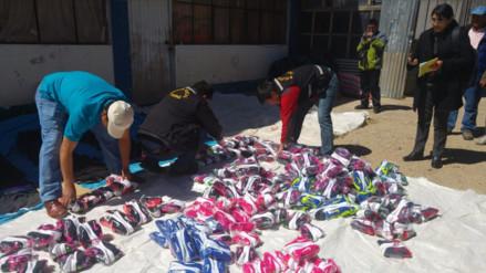 Ilave: incautan más de medio millón de soles en contrabando
