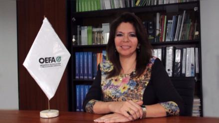 Designan a Tessy Torres Sánchez como nueva presidenta del OEFA