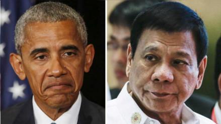 Obama sí se reunió con el presidente filipino le dijo