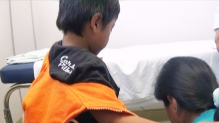 Huancayo: hallan larva en la piel de menor de cuatro años
