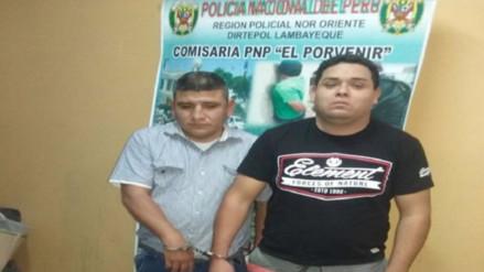 Chiclayo: capturan a ladrones que se hacían pasar por policías