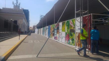 V Feria del libro será multada por invadir vía pública