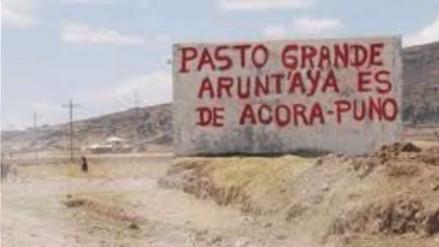 Mañana entregarán informe sobre delimitación entre Puno y Moquegua
