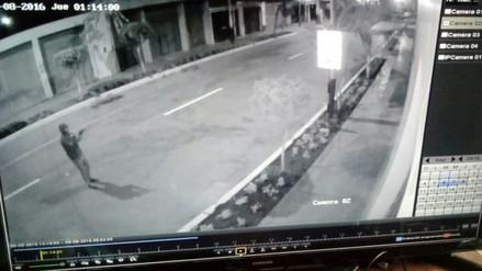 Áncash: extorsionador dispara contra gimnasio en Santa