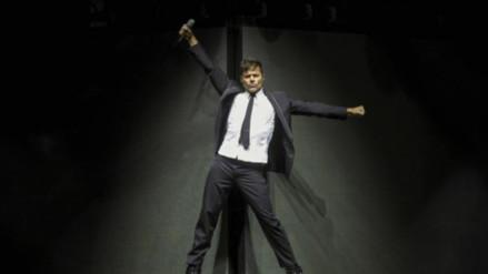 Ricky Martin desata locura en su primer concierto en Europa