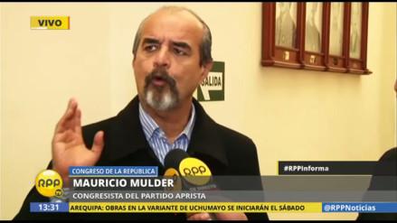 """Mauricio Mulder: """"Guido Lombardi era el sobón de Fujimori y Montesinos"""""""